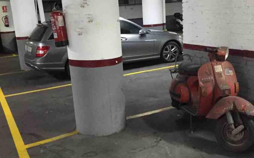 Venta plaza de parking en Barcelona